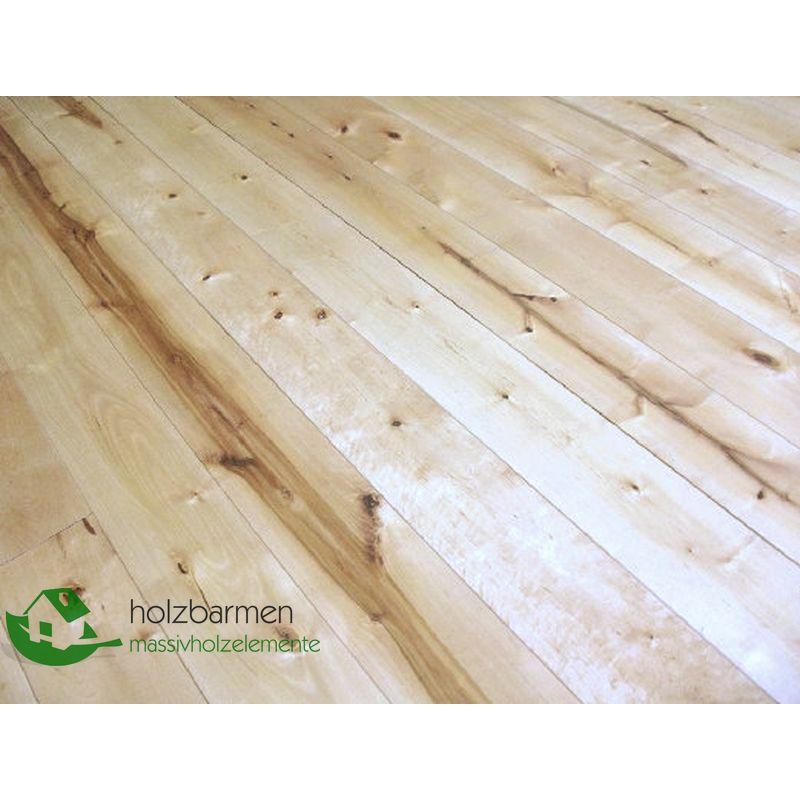 Solid Nordic Birch Flooring 20x160 Mm Rustic Grade