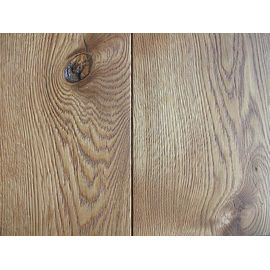 Solid Oak flooring, 20x120 x500-2400 mm, Rustic grade, brushed and natural oiled